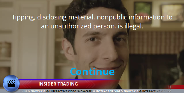 Code of Conduct - Insider Trading - Interactive Compliance Videos