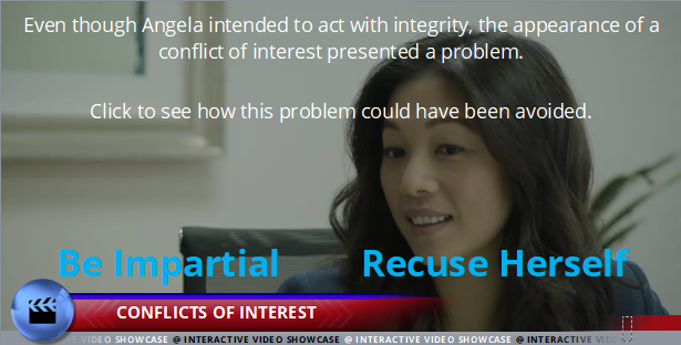 Code of Conduct - Conflicts of Interest - Interactive Compliance Videos