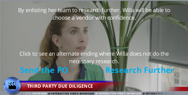 Code of Conduct - Third Party Due Diligence - Interactive Compliance Videos