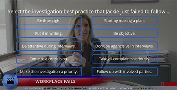 Preventing Discrimination and Harassment - Investigations for Managers - Interactive Compliance Videos