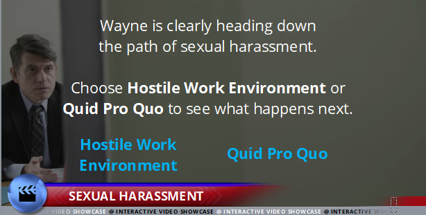 and Harassment - Sexual Harassment - Interactive Compliance Videos