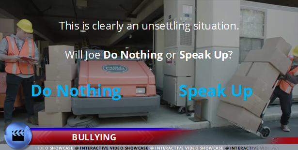Preventing Discrimination and Harassment - Bullying - Interactive Compliance Videos