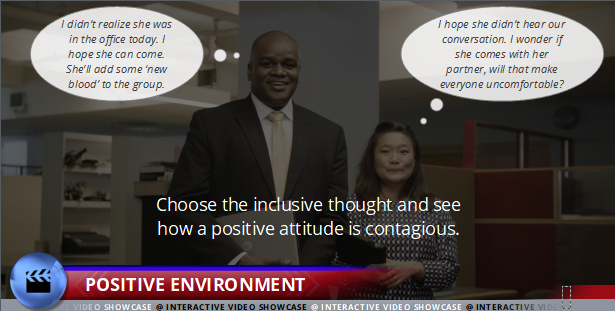 Preventing Discrimination and Harassment - Positive Environment - Interactive Compliance Videos