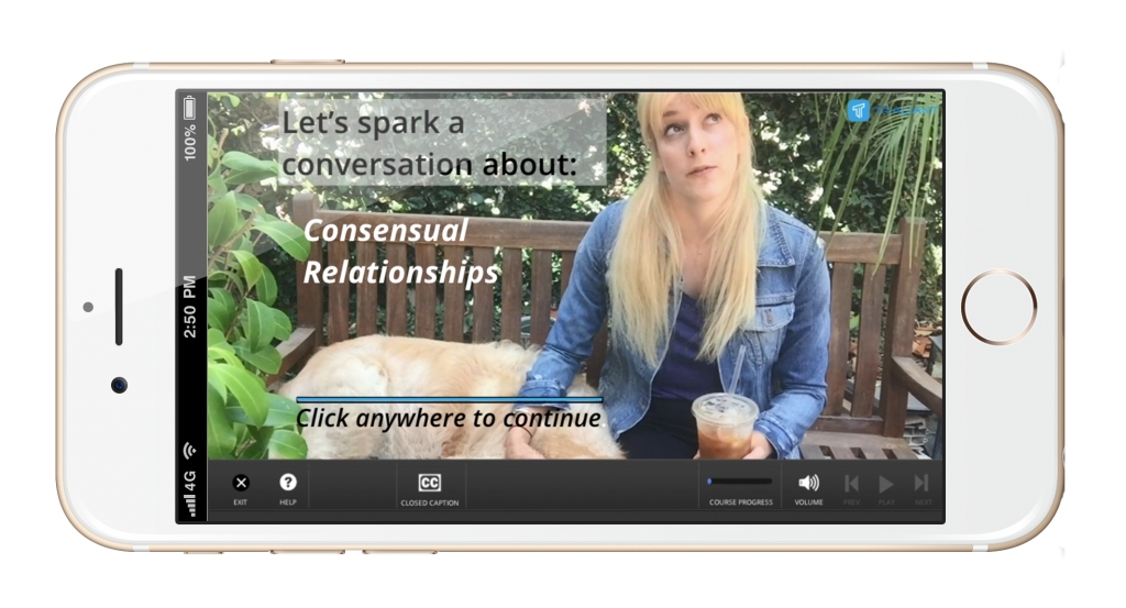 Traliant Sparks iPhone Screenshot - Consensual Relationships