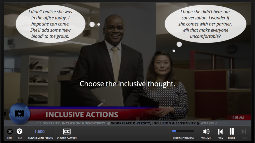 Diversity and Inclusion - online training