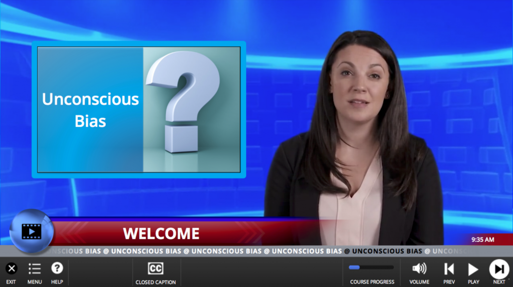 Unconscious Bias Training Course Screenshot