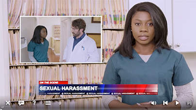 sexual harassment training for healthcare