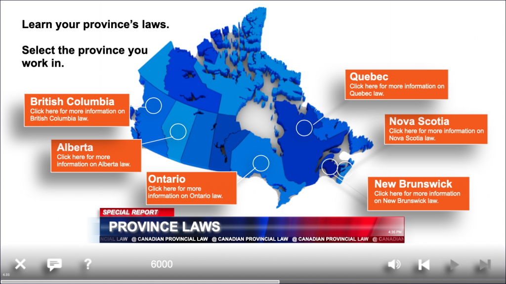 canadian provincial laws