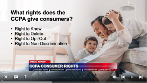 online training for california consumer privacy act ccpa