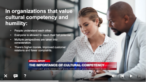online training for cultural competency and humility